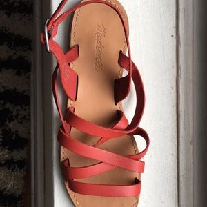 Madewell sandals!